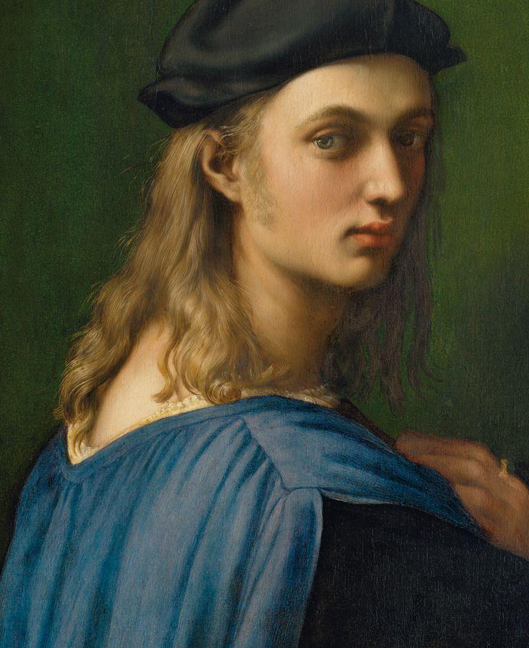 Cuadro retrato de Bindo Altovitti de Rafael Sanzio.
