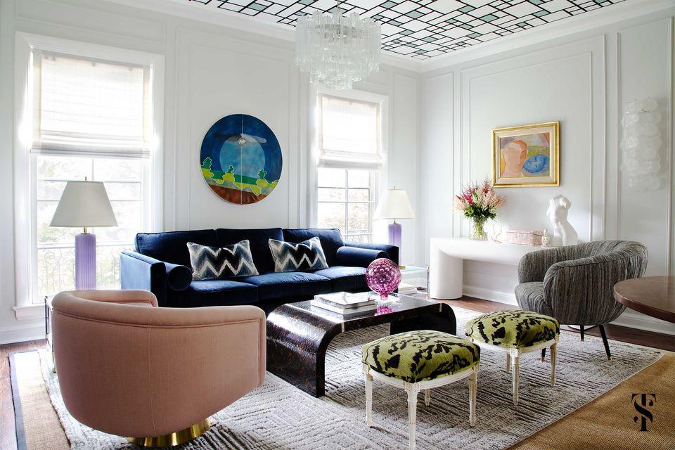 Chicago luxe summer thornton design summer thornton is the interior designer