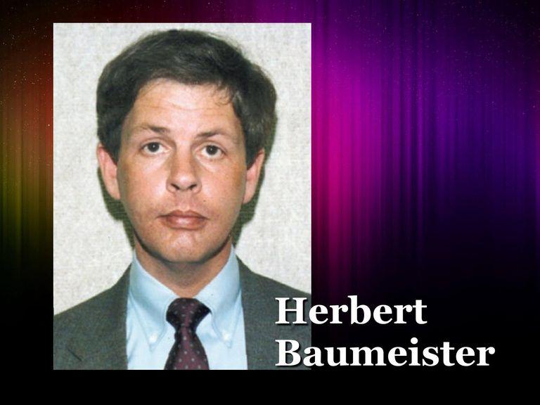 Herbert Baumeister mug shot