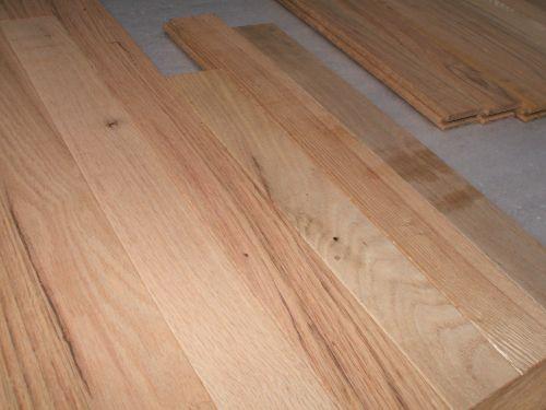 Rustic Hardwood Flooring - Red Oak