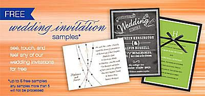 Where to request free wedding invitation samples stopboris Image collections