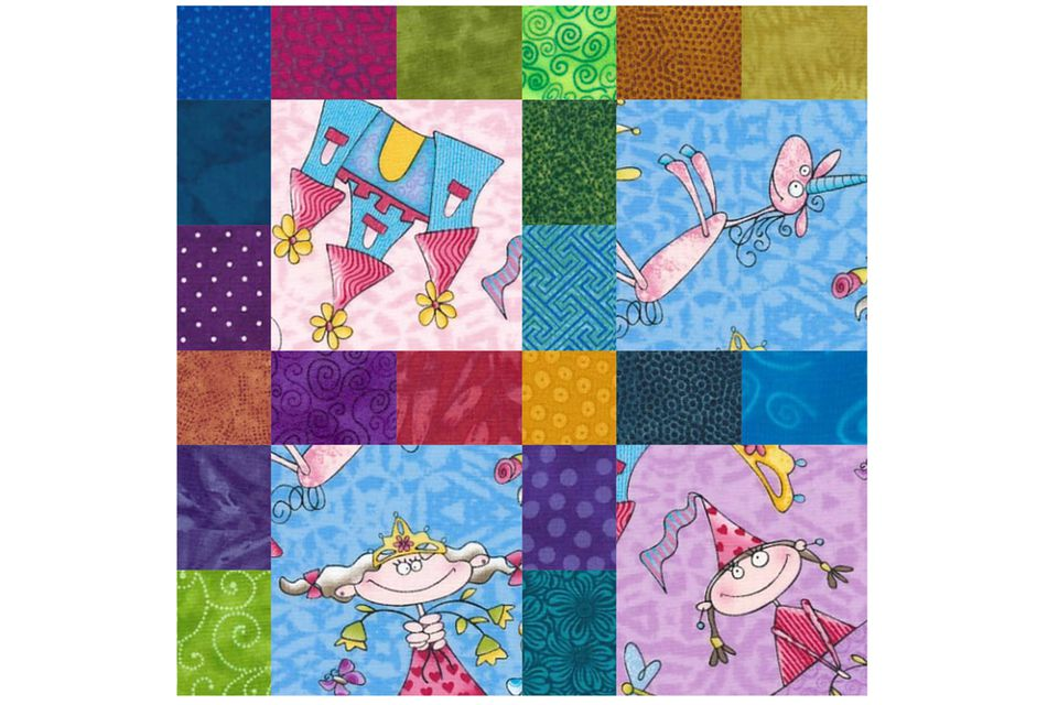 How to Make an I Spy Quilt