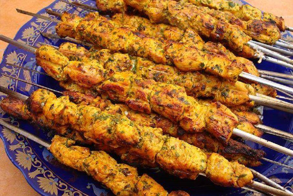 Moroccan Chicken or Turkey Kebab (Brochette) Recipe