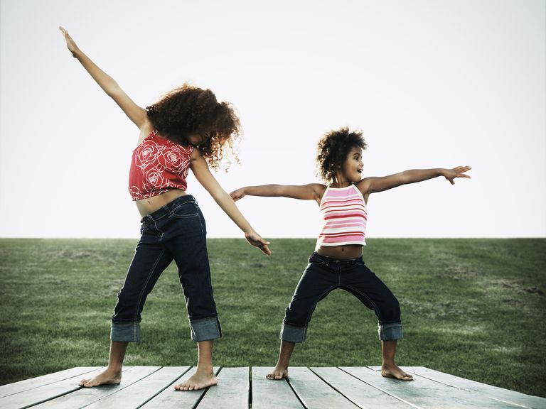 Stretches for kids - start with a dance warmup
