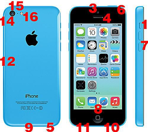 iPhone 5C features and specs