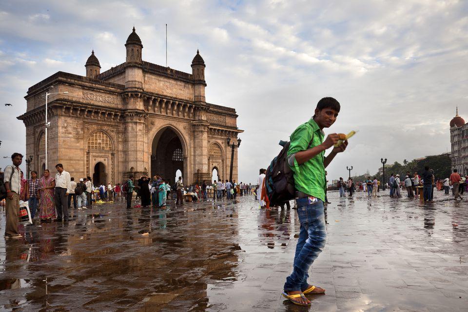 Gateway of India during monsoon