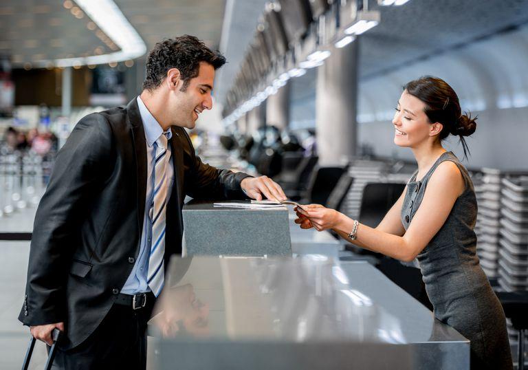check-in desk o mostrador de facturación