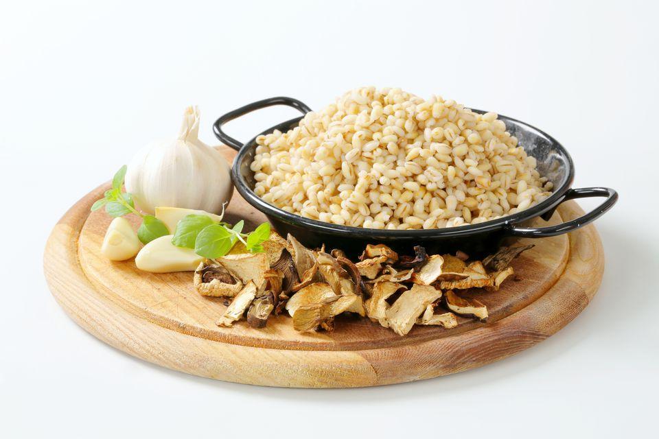 Barley and Mushrooms