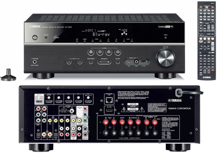 Yamaha RX-V575 Home Theater Receiver
