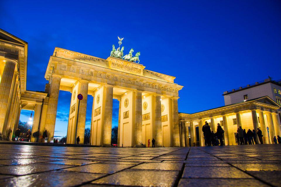 The Brandenburg Gate, Berlin, Germany