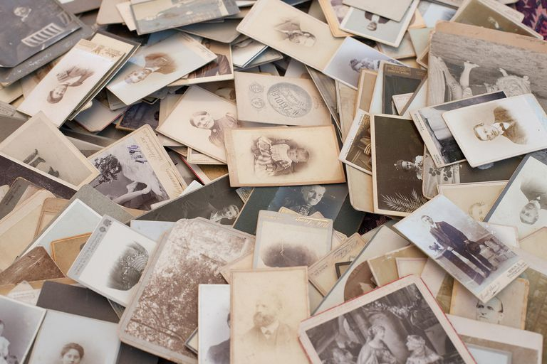 Learn how to care for your old and important family photographs.
