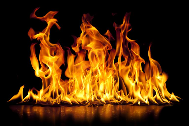 Flammability is an example of a chemical property of matter.