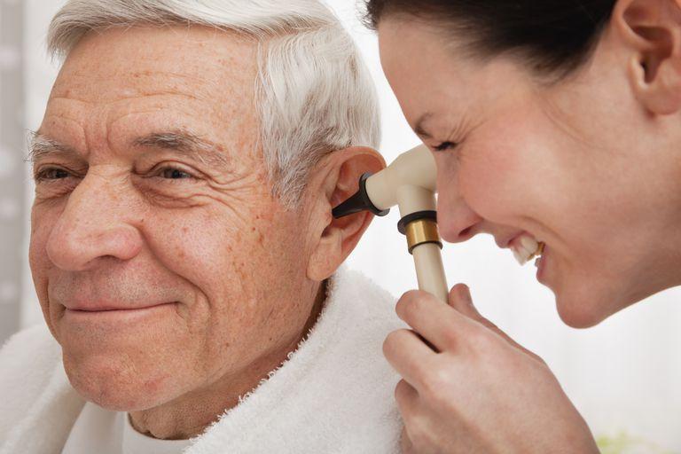 Hearing loss - ear exam