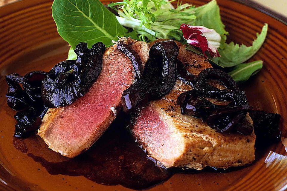 Italian Dressing Marinated Steaks