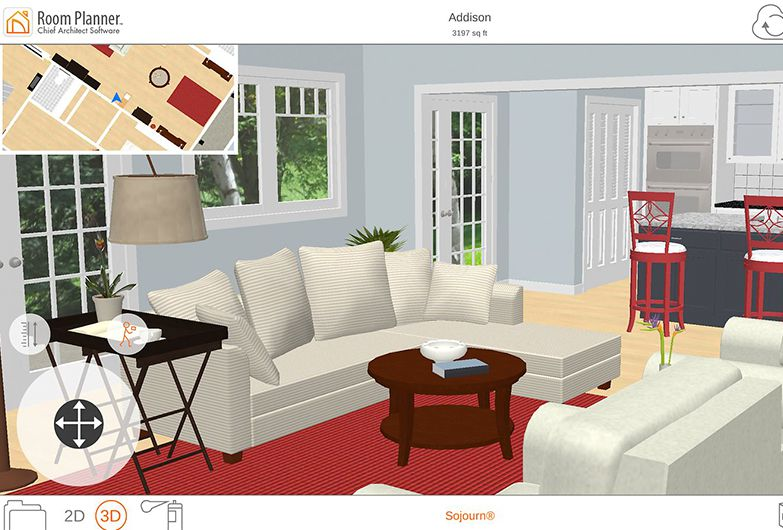 10 must have apps for serious interior design - 2d Interior Design