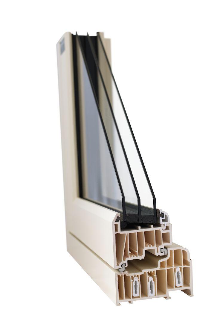 Triple Glazed Window section