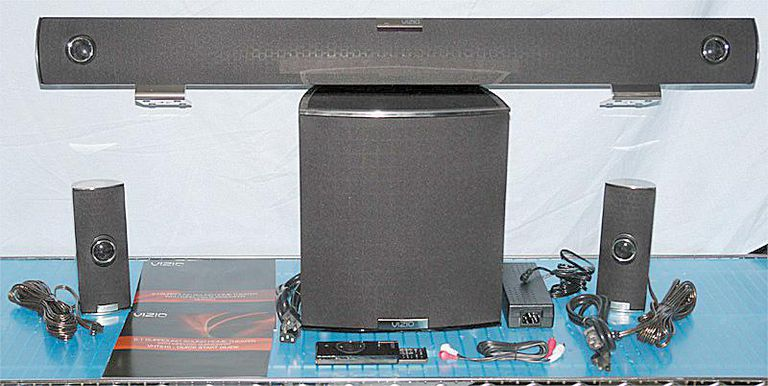 Vizio VHT510 5.1 Channel Home Theater System with Included Accessories