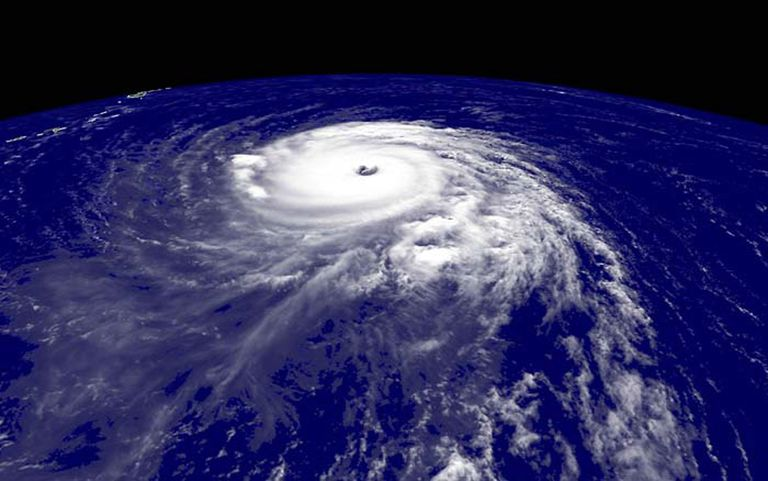 Hurricane Isabel IN SPACE - SEPTEMBER 11