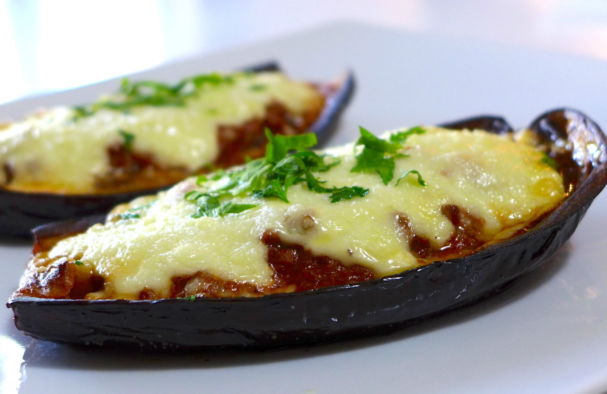 How To Make Greek Stuffed Eggplant A Recipe