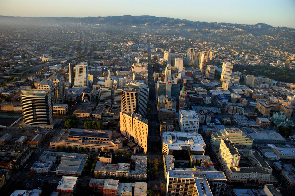 The city of Oakland