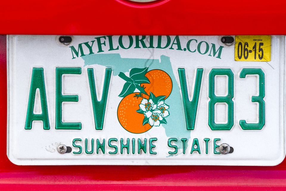 License Plate - Florida