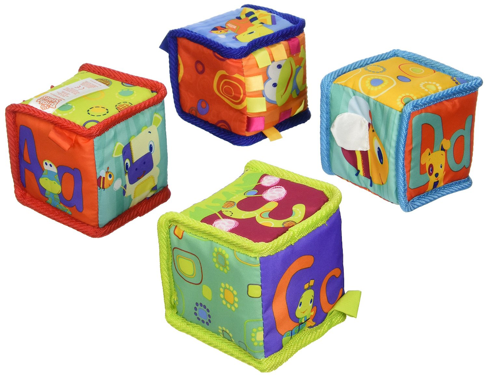 Baby Blocks Toys : Developmental toys for baby twins or multiples