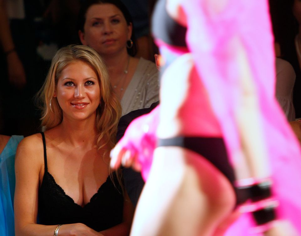 Anna Kournikova takes in SWIM Week on Miami Beach