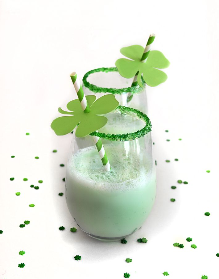 St Patrick S Day Diy Drink Decorations