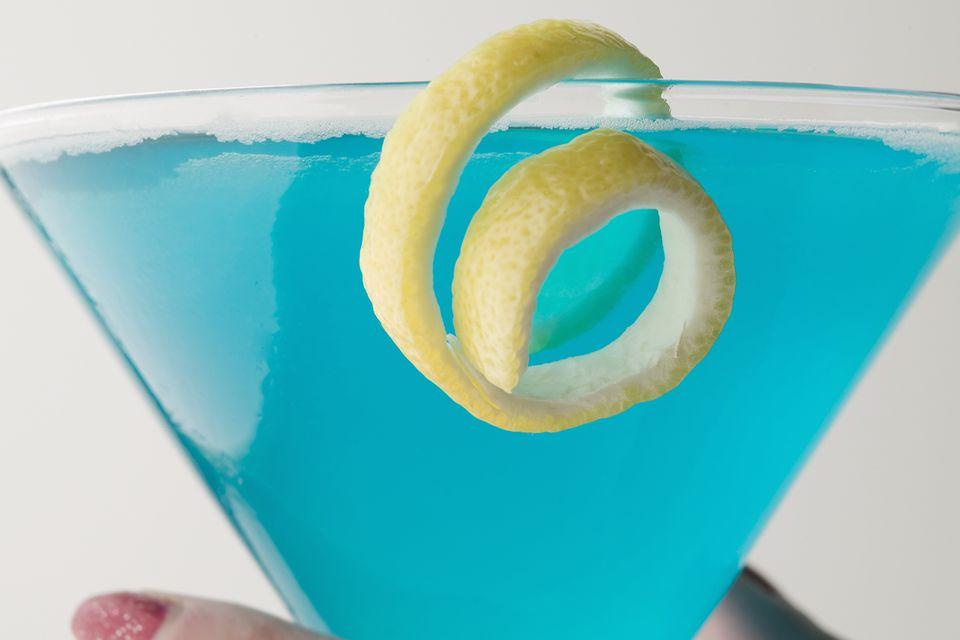 Deep Blue Sea Martini