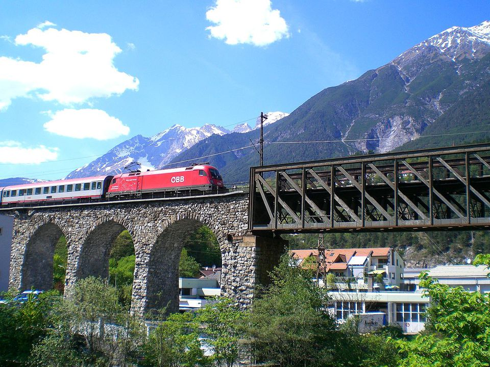 Austria by rail