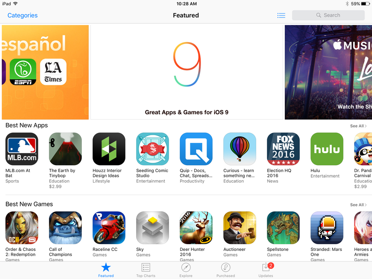 How Many iPad Apps Are in the App Store?