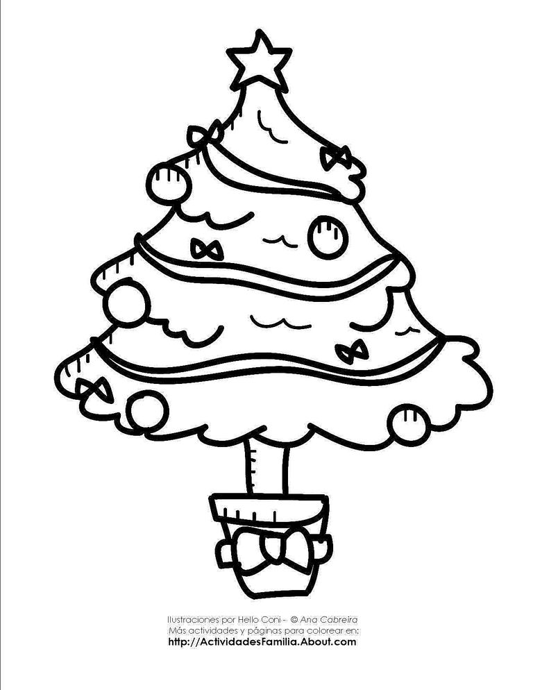 Dibujos de navidad para colorear - Como pintar bolas de navidad ...