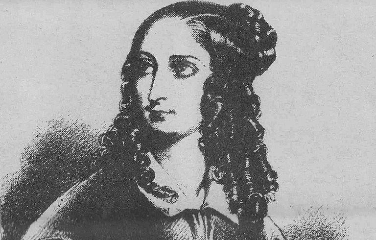 Retrato de Flora Tristán.