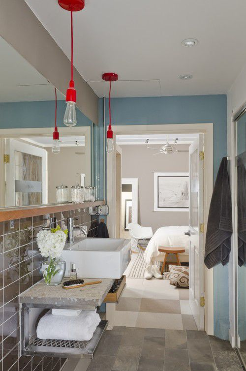 16 Modern Farmhouse Bathrooms on Modern Farmhouse Shower  id=34994