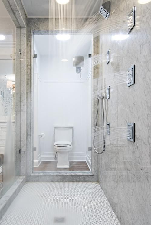 Walk In Shower With Multiple Sprays. 19 Gorgeous Showers Without Doors