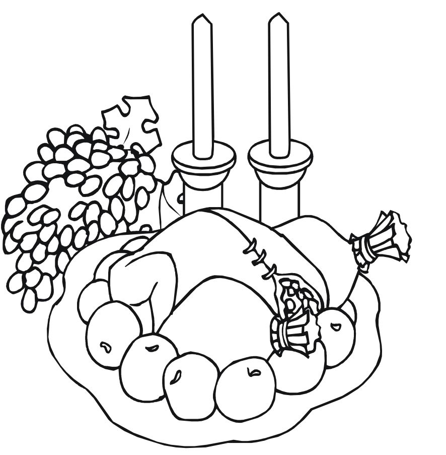 193 Free, Printable Turkey Coloring Pages for the Kids