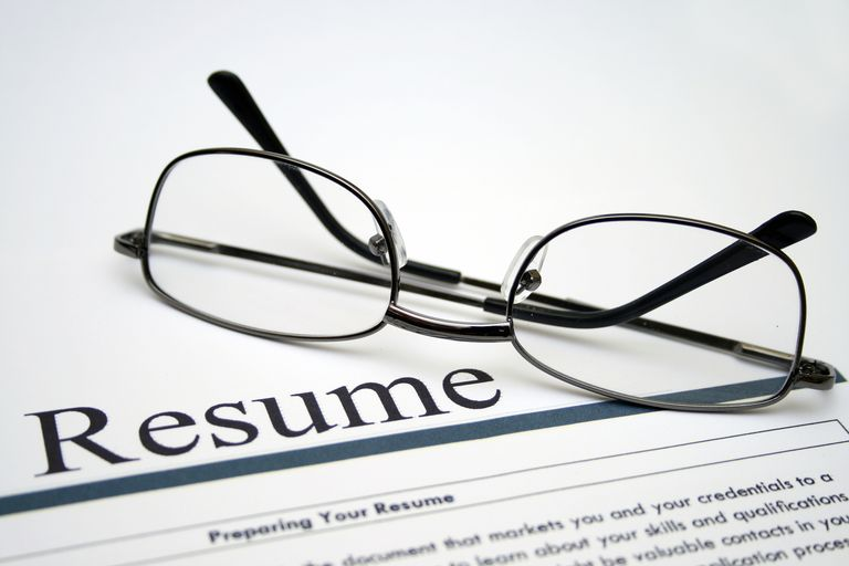 resume with glasses - Resume Goals Examples