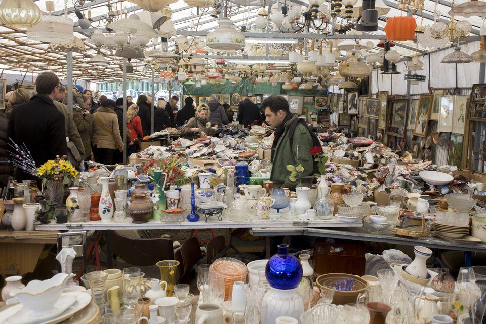 Mauerpark Flea Market in Berlin