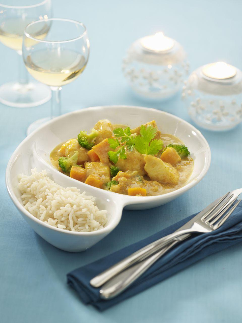 Broccoli and Potato Curry
