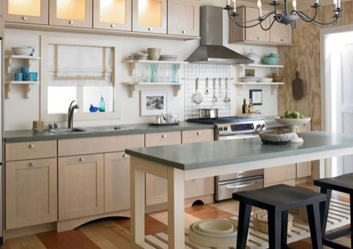 Kitchen Island Instead Of Table Types of kitchen islands kitchen island table workwithnaturefo