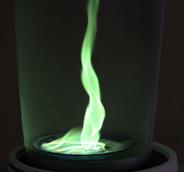 It's easy to make your own fire tornado or fire whirl.