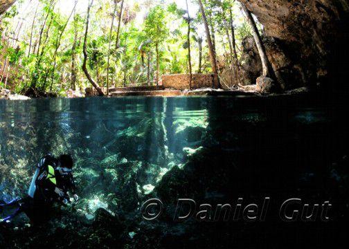 Taj Mahal Cenote Photo