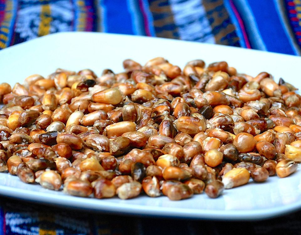 Andean Toasted Chulpe Corn (Cancha)