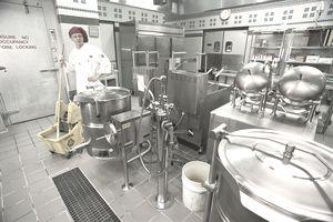 Military kitchen