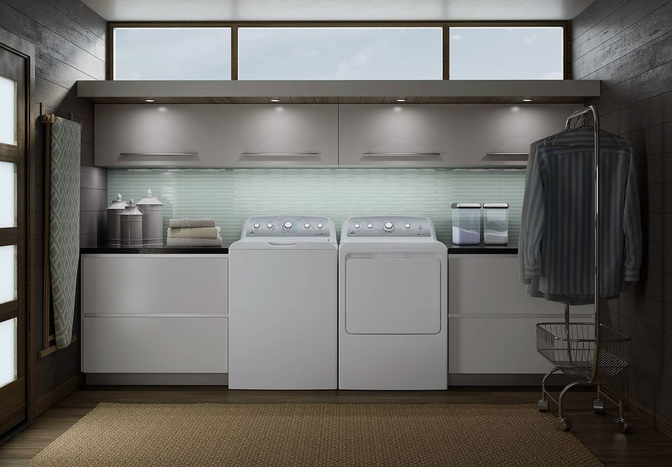 GE Modern Laundry Room