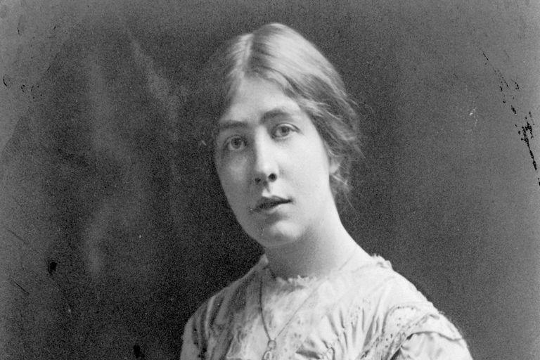 Sylvia Pankhurst, about 1909