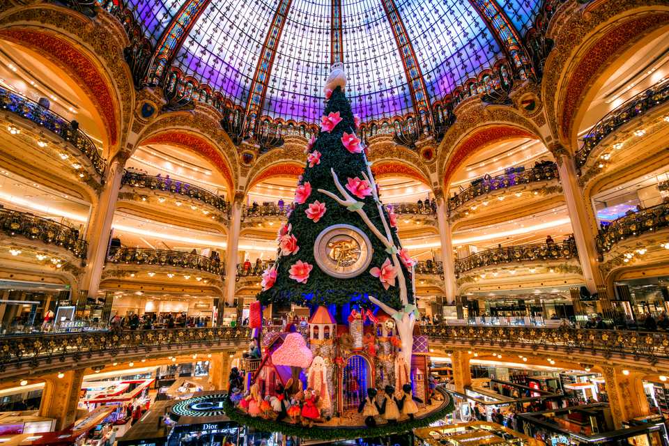 Christmas Tree, Galeries Lafayette