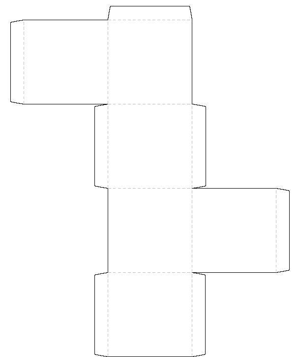 printable square box template. Black Bedroom Furniture Sets. Home Design Ideas