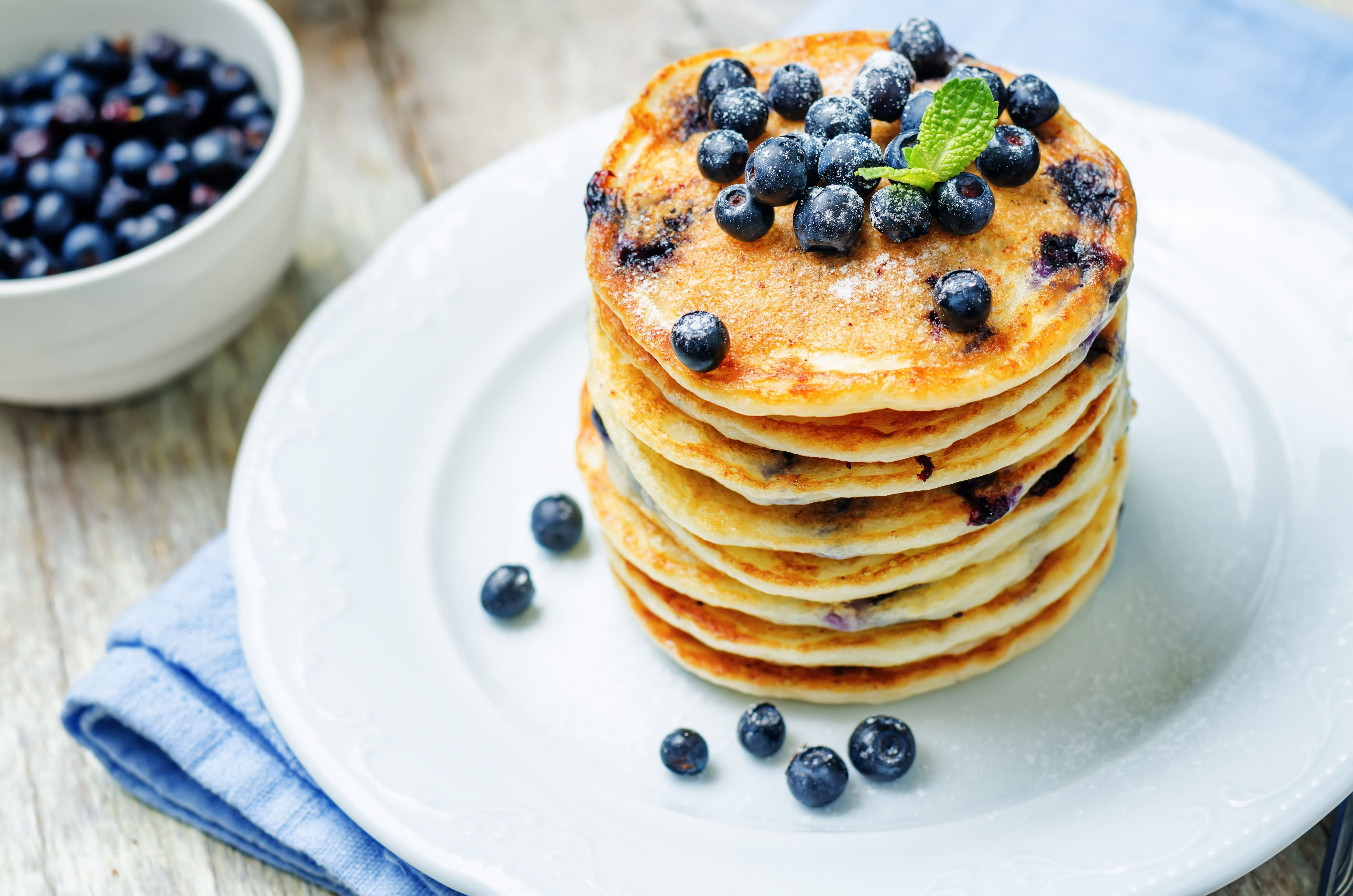Vegan Blueberry Pancakes Recipe