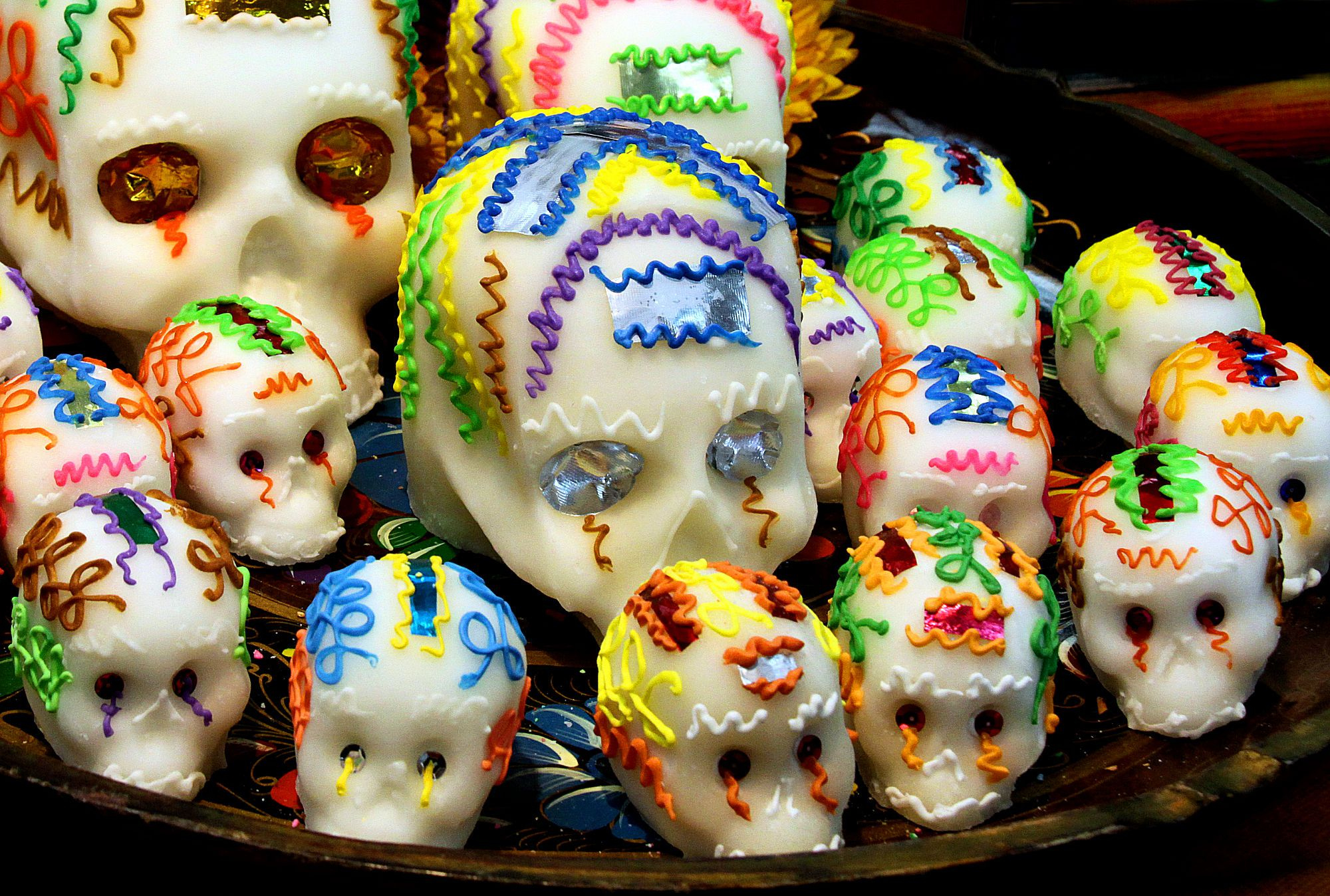 Make Sugar Skulls Step By Step Tutorial With Pictures